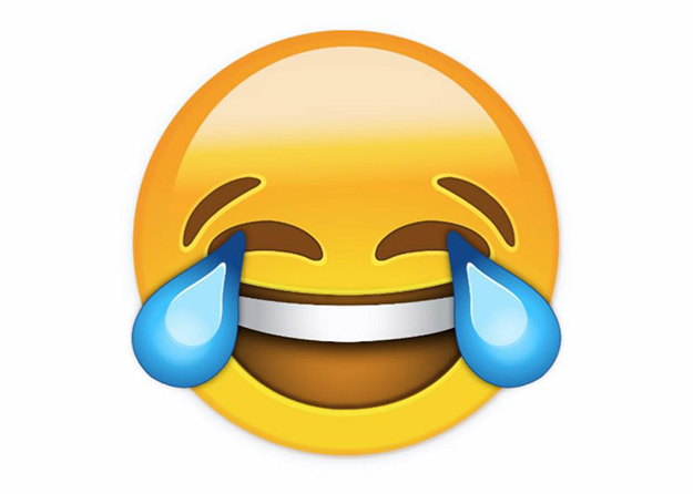Photo: Oxford English Dictionaries The tears of joy emoji is the Oxford English Dictionaries' word of the year for 2015.
