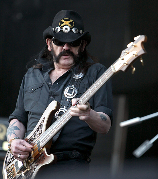 Photo: Rama / Wikimedia Commons. Lemmy from Motörhead in 2011.