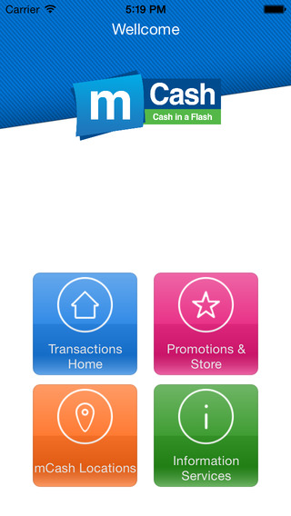 Photo: iTunes App Store mCASH's phone-based payment can be used at an increasing number of retailers.