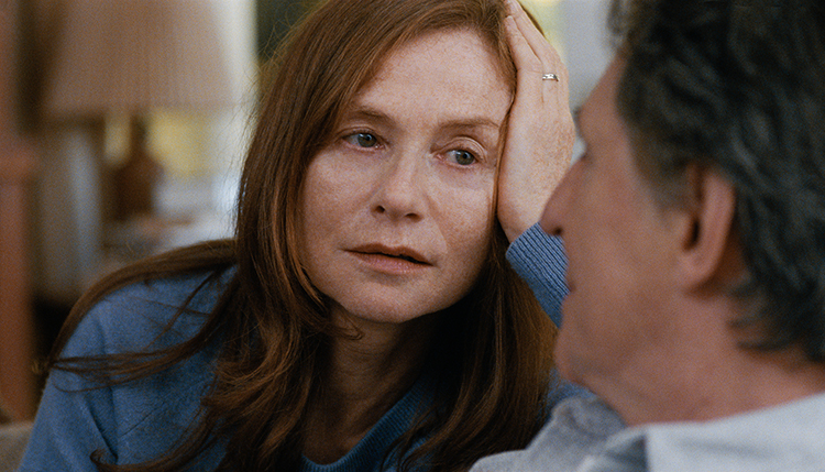 Photo: Jakob Ihre / Motlys AS Isabelle Huppert plays a war photographer in Trier's first English-language film, Louder Than Bombs.