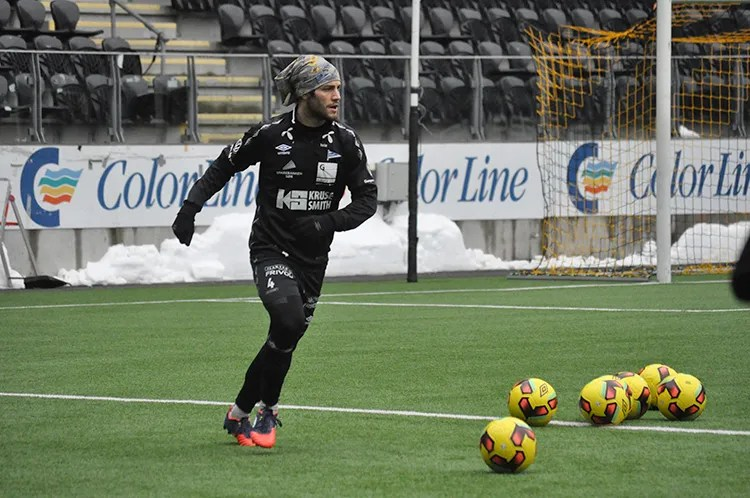 Photo: Erik André Ingebrigtsen / IK Start Alex DeJohn has high goals for scoring goals. His soccer career has taken him from New Jersey to Finland, and now to Start in Kristiansand.
