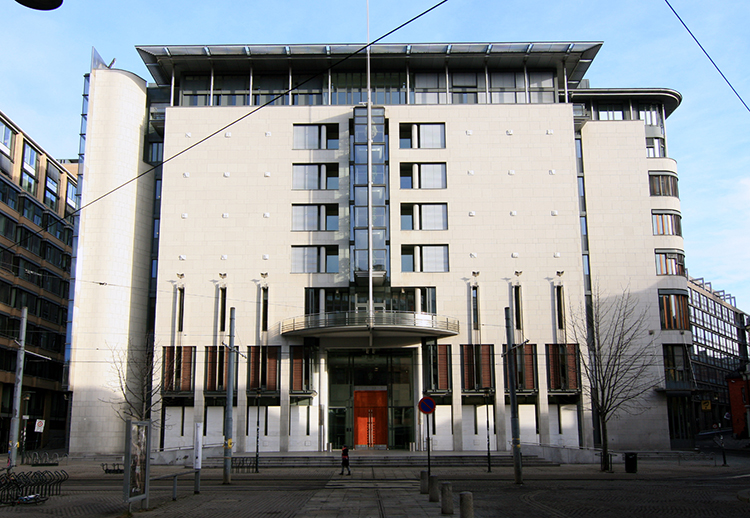 Photo: Mahlum / Wikimedia Commons The Oslo courthouse. This recent decision is controversial but upholds Norway's high standards for justice.