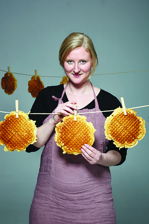 Photo courtesy of Stine Aasland Norway's Waffle Queen is preaching waffle culture in the United States.