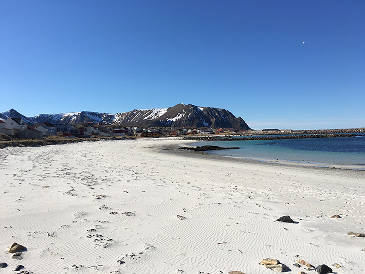 Photo: David Nikel The beach at Bleik is one of many gorgeous examples across Vesterålen.