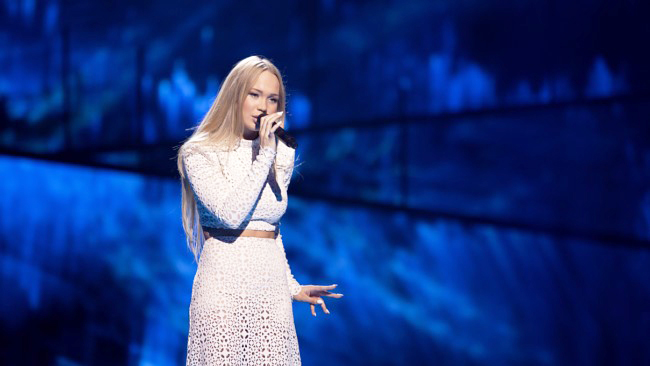 Photo: Rikke Askersrud / NRK Agnete didn't move on to the Eurovision finals, but that's not the end for her.