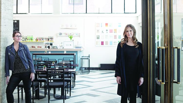 Photo courtesy of Medialounge  Co-founders Jorunn Flydal and Henriette Hedløv.