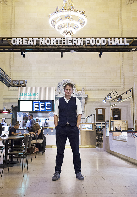 Photo: Signe Birck Claus Meyer at Great Northern Food Hall.