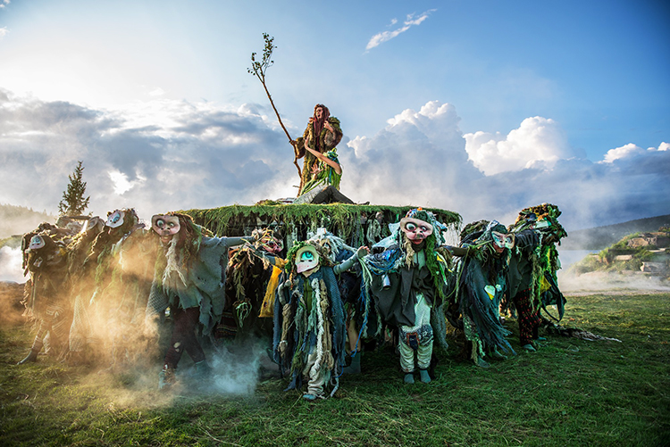 Photo: Arne Hærnes / Peer Gynt AS  This is from a previous year's production of Peer Gynt at the festival I get to visit!