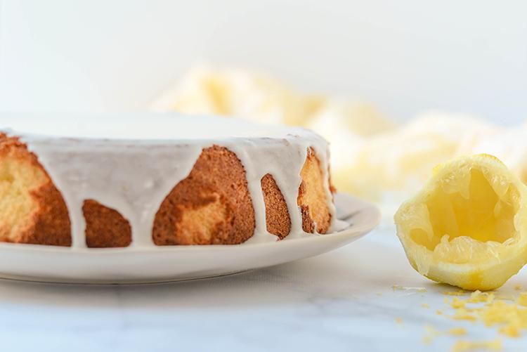 Solskinnskake, a lemon-flecked Norwegian sunshine cake.