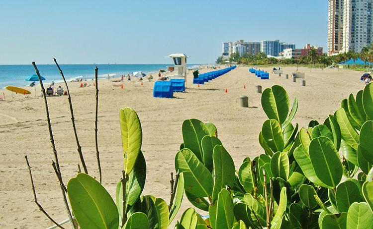 Pompano Beach in Southern Florida