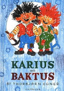 Karius og Baktus book cover