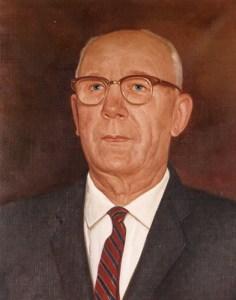 Portrait of Ole T. Tollefson.