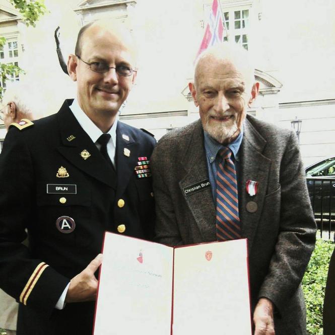 Erik Brun and Christian M.F. Brun.