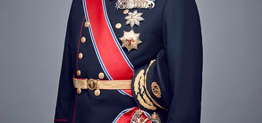 Portrait of King Harald