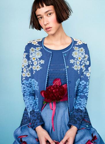 An Oleana sweater.