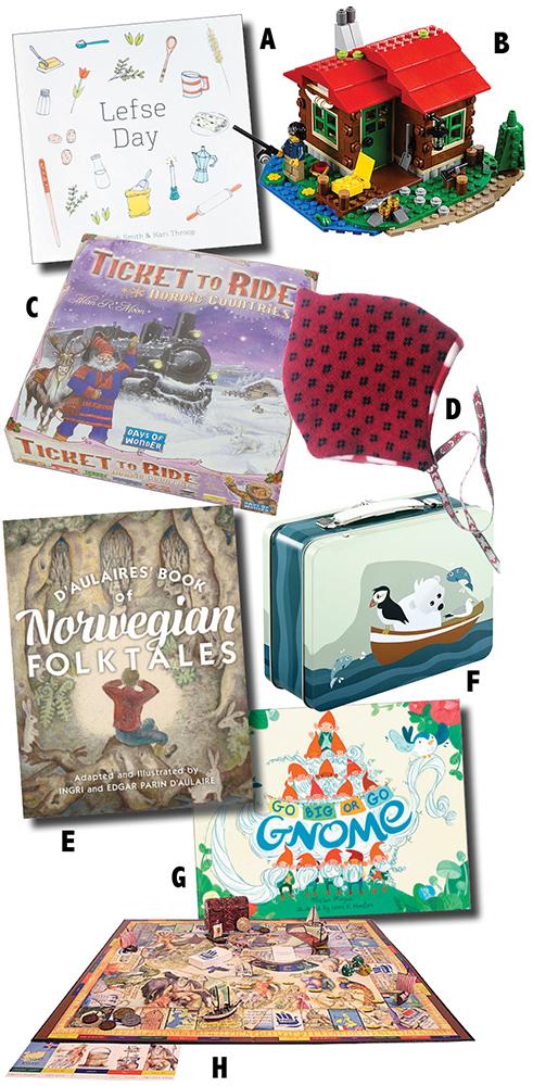 Gifts. Descriptions below.