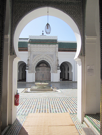 Journey through Morocco: University of Al-Quaraouiyine and Mosque