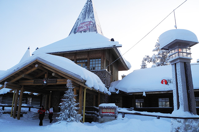 Where does Santa live: Finland