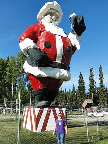 Where does Santa live? North Pole, Alaska