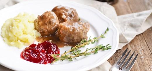 gluten-free Swedish meatballs