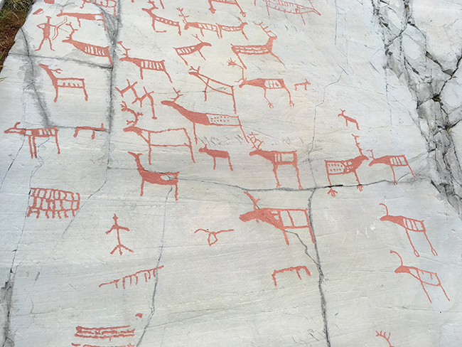 Rock carvings, Alta, Norway