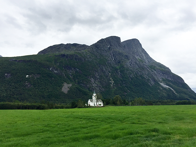 Be Not Afraid: Sira Church in Eresfjord, Norway.
