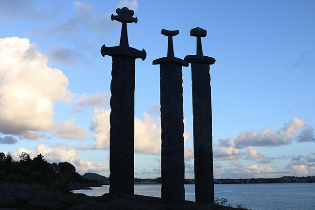 Stavanger travel: Sword in Mountain