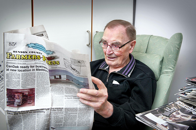 Norway's oldest man