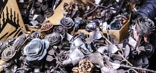 Oslo's iron roses
