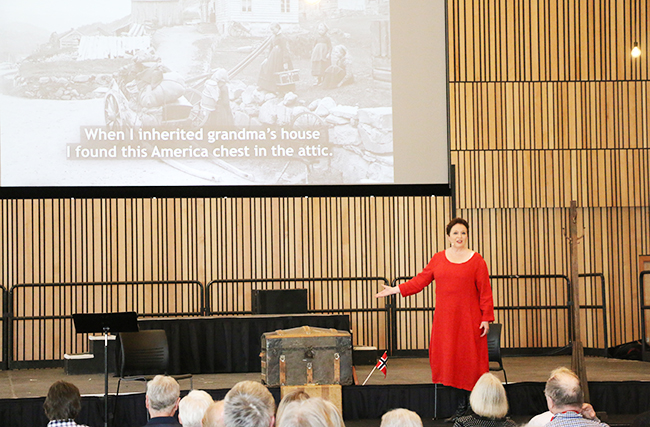 Nordic Museum opening - Reidun Horvei