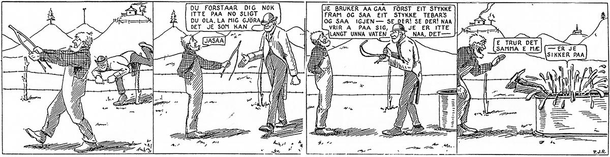 Han Ola og Han Per Norwegian comic