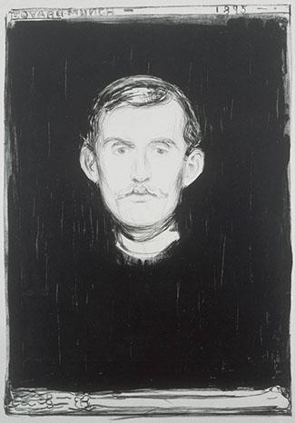 Nordic Impressions - Munch self portrait