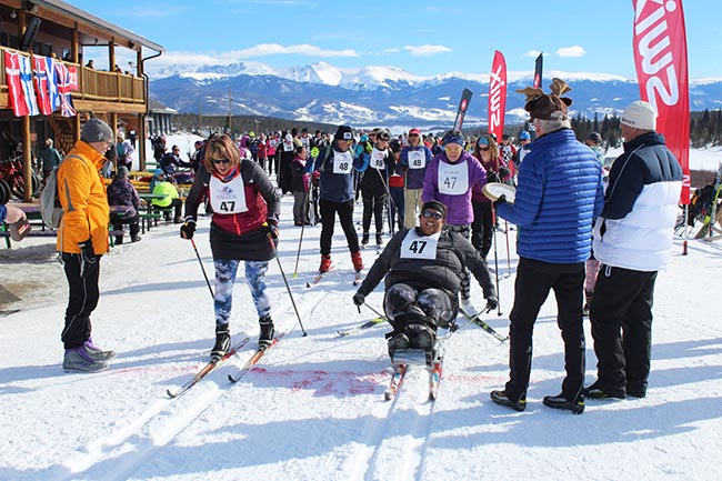 impaired skiers