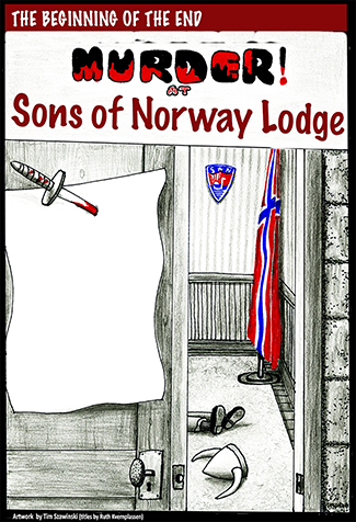 Murder at Sons of Norway