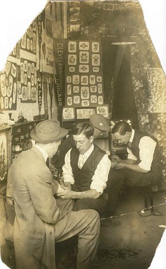 Vesterheim tattoo exhibit