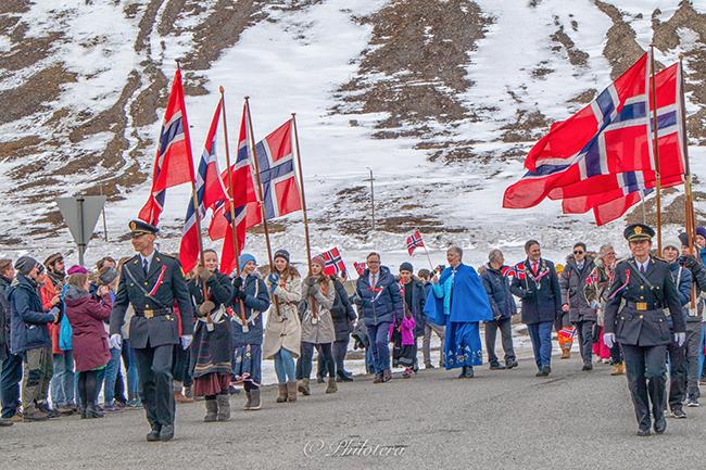 Svalbard celebration