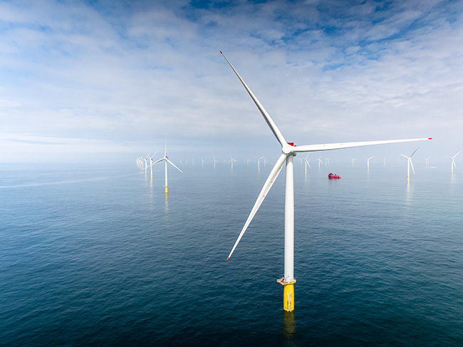 Equninor wind turbines