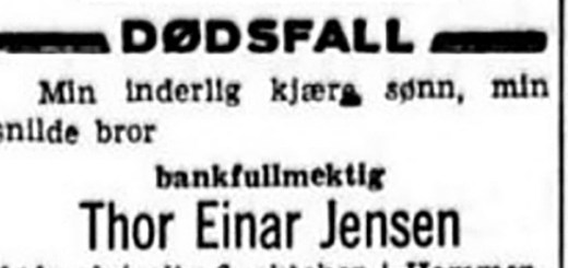 Thor Jensen obit