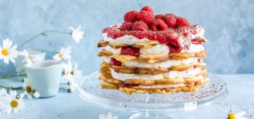 waffle cake vaffelkake