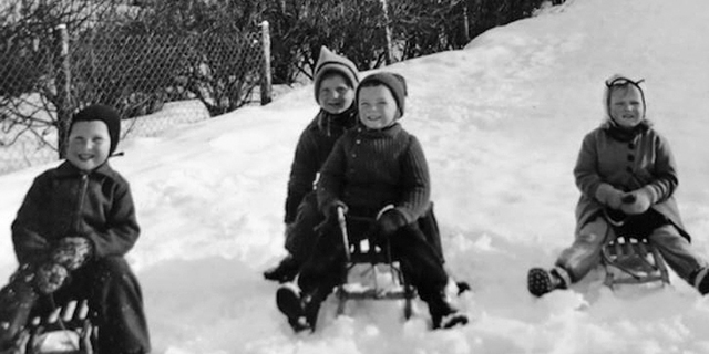 Norwegian childhood - German occupation