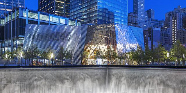 Snøhetta designed the 9/11 memorial