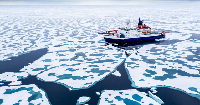 MOSAiC expedition and the Polarstern