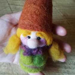Felted nisse woman