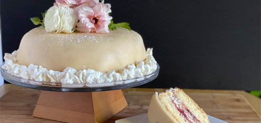 Hvit dame kake