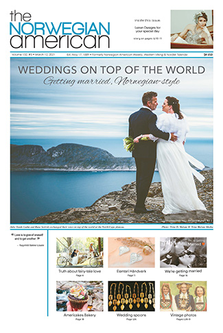 Wedding issue cover