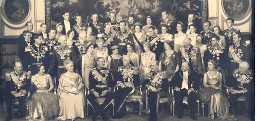 Gustav V's birthday party