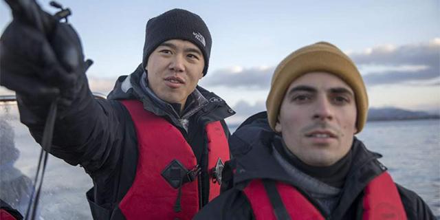 Tony Chen and John Costantino, the founders of Manolin