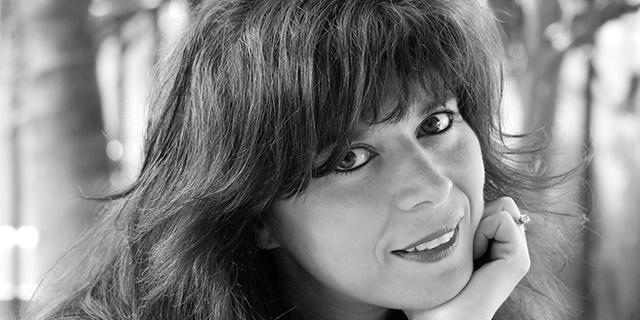 Suzannah Warlick headshot in black and white