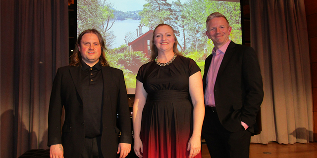 Grieg's music was performed by these three performers