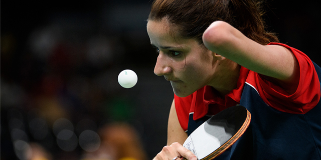 Aida Husic Dahlen is a Paralympic table tennis player for Norway